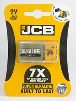 JCB BATTERY SUPER ALKALINE 9V