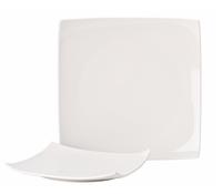 """Pure White Square Plate 10.75""""(27.5cm)"""