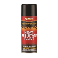 Everbuild Heat Resistant Paint 400ml Aerosol