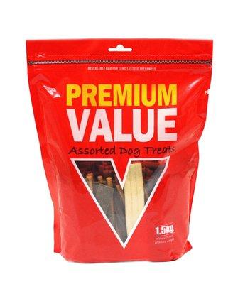 Premium Value Assorted Treats 1.5kg x 1
