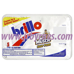 Brillo Soap Pads 5's x24