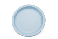 23cm Plate S/Blue - Narrow Rim