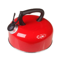 Aluminium Whistling Kettle 2L Col'd