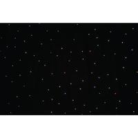 LEDJ PRO 6 x 3m Tri LED Black Starcloth System