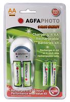 Agfa Photo Charger - 4 slot inc 2AA & 2AAA