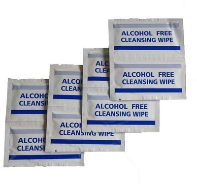 First Aid Antispetic Sterile Wipes (Pack of 100)