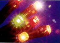 100 LED WARM WHITE LIGHTS LOW VOLTAGE STRING 10 METRE