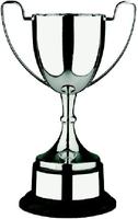 30cm Swatkins Nickel Plated Cup & Black Base