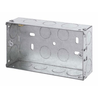 Flush Metal Box(WA096) 235F 35 mm Double
