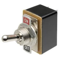 TOGGLE SWITCH 10AMP T521B.SCREW TERMINALS