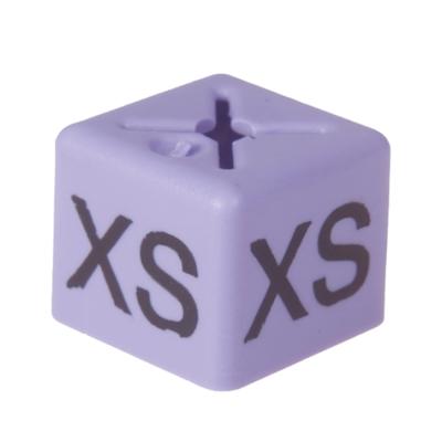 SHOPWORX CUBEX 'Size XS' Size cubes - Lilac (Pack 50)