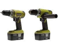 RYOBI Combi and Drill Driver Twin Pack 18v Kit