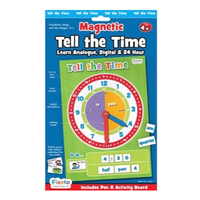 Children's Tell The Time Magnetic - Packaging Front