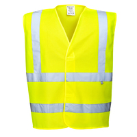 Portwest Bizflame Antistatic Vest Hi-Vis Yellow