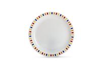 Stripes Multicoloured - 17cm Patterned Plate