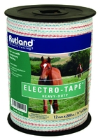 12mm Electro-Tape White | Electric Fencing