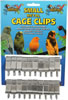 Lazy Bones Metal Cage Clips - Small x 20