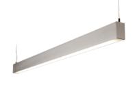 SAXBY BORAT HF 2 X 35 WATT TL-5 Direct/Indirect PENDANT ALUMINIUM (Supplied Less lamps)