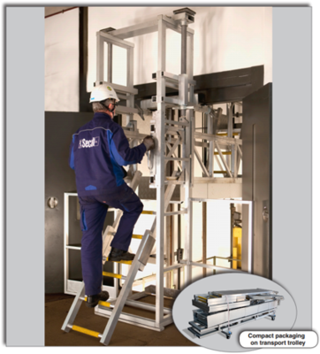 ELESCAF- Access Platform for Elevator Lifts