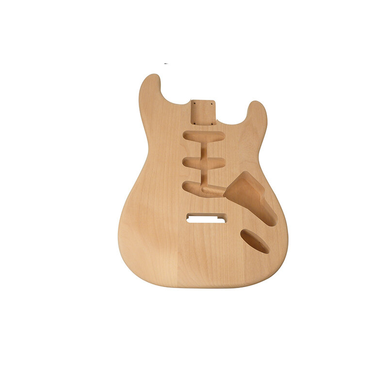 Guitar body SC style, solid alder/basswood