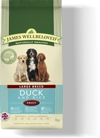 James Wellbeloved Adult Dog Large Breed - Duck & Rice 15kg
