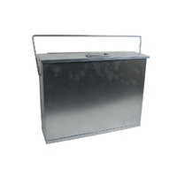 Leecroft Galvanised Ash Carrier