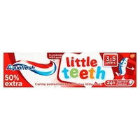 Aquafresh Kids Little Teeth Toothpaste 50ml 3-5Years