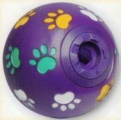 "Lazy Bones Dog Activity / Training Treat Ball Medium 4½"" x 1"