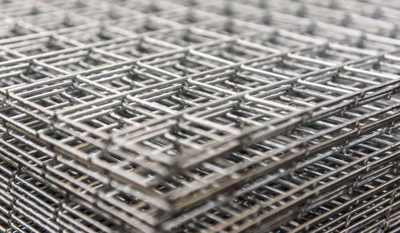 Wire Sheet   Weld Mesh Sheet Wire Galv 1x1 12g 8x4ft Goodwins