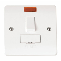 Click Mode CMA652 13A Switched Fused Connection Unit Neon