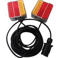 LED Magnetic Trailer Light Set 7.5m Cable CA9553