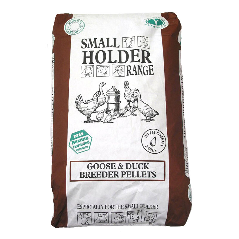 Allen & Page Small Holder Range Goose & Duck Breeder Pellets 20kg