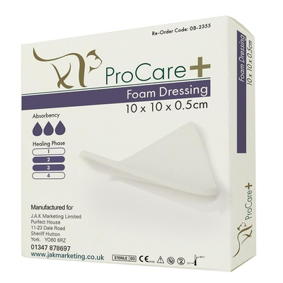 Purfect ProCare+ Foam Dressing