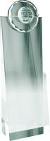19cm Crystal Award with Sliotar | TC23
