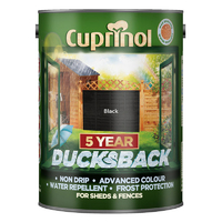 Cuprinol Ducksback 5L Black