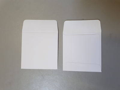 X-RAY ENVELOPES PLAIN WHITE PAPER x500
