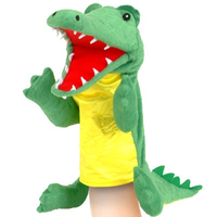 Crocodile hand puppet - you can move his mouth