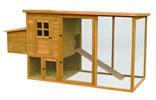 Lazy Bones Wooden Hen House & Run - Rectangular x 1