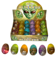 Mini Alien Eggs. (Sold in displays of 24, min order 1 display)