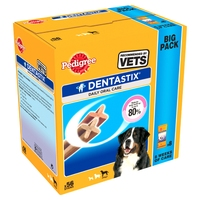 "Pedigree Dentastix Large 56 Stick ""Big Pack"" x 1"