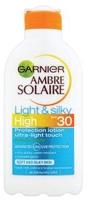 Garnier Ambre Solaire Light And Silky Milk Spf30 200ml