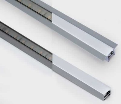ONE Light 2m Opaque Diffuser fro Square Profile