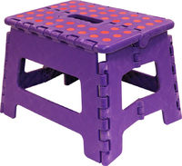 Small Plastic Folding Step Stool - 20140 (FSTOOL)