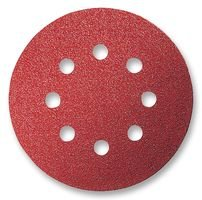 Sandpaper  Orbital Bosch 125mm 5 Pack 120g 2608605643810