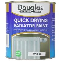 DOUGLAS QUICK DRYING RADIATOR PAINT WHITE 250ML