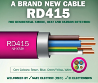 RD415 DETECTOR CABLE NHXMH  (COIL 100 MTRS)
