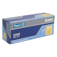 Rapid Staples 13/8mm (5000 box)
