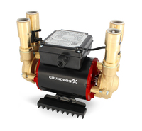 Grundfos Shower Pump Stp-3.0 B 3.0 Bar Positive Twin