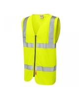 Leo MEETH ISO 20471 Cl 2 LFS Zip Waistcoat (EN 14116)