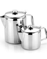 Kew Coffee Pot Economy Stainless Steel 48oz 1.5 Litre
